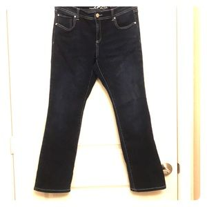INC Dark Wash Denim Boot Cut Jeans